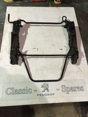 peugeot 205 1.6 / 1.9 gti all 205 models not convertible drivers seat subframe